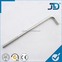 Different Series of Stainless Steel L Shape Bolt For Wind Power