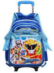 Cartoon school kids trolley bag