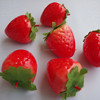 Artificial Fake Food Fruit Decorative Artificial Strawberries Fake Fruit strawberry