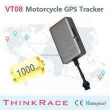 2015 Thinkrace Motorcycle gsm gps tracker VT08 With Geofence Feature