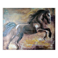 Horse Paintings Abstract Animals Wall Pictures Home Decor