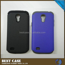 2015 phone case 2 in 1 case silicone pc combo phone case for samsung galaxy s4 mini