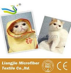 mesh bag packing polar Fleece dog towels wholesalers in china