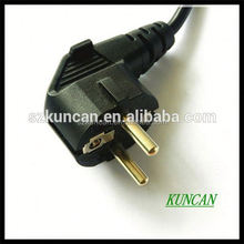 Schuko power cable, VDE lamp hold with inline 303 switch and E14 plastic lamp holder