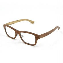 Particular wooden pattern in vogue spectacle frames