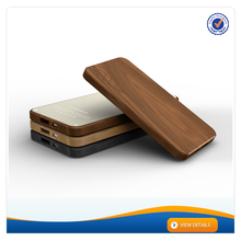 AWC619 Hot sell oem supply 10mm wood power bank 4000mah for mobile phones best portable power bank