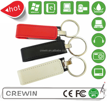 2015 new leather pen drive,usb flash drive leather,white leather USB flash drive