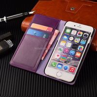 China Factory Leather Flip Purse Case Leather PU Phone Case, Case For iphone 6s Wallet Case ,For iphone 6s Flip Hard Case Cover