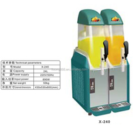Elegant appearance slush machine slush powder