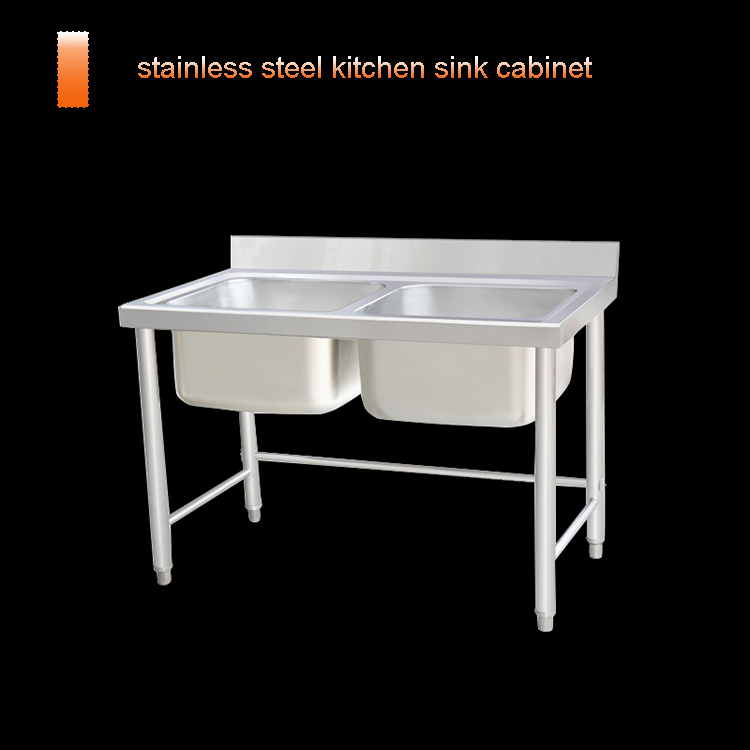 High quality chinese factory competitive price stainless for Stainless steel kitchen cabinet price
