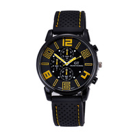 High Quality 2015 Fashion Style Wholesale Sports Men Silicone Watches