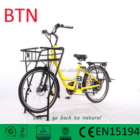 2015 best selling electric cargo bike low price