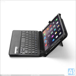 For iPad mini 4 bluetooth keyboard leather case cover 2015 new coming