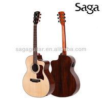 musical guitar equipement made by saga guitar factory, G200C