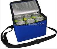 cooler bag with drink holder for bottle can leak proof