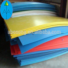 Abosong heavy duty high density poly sheeting / lightweight hdpe sheet stock