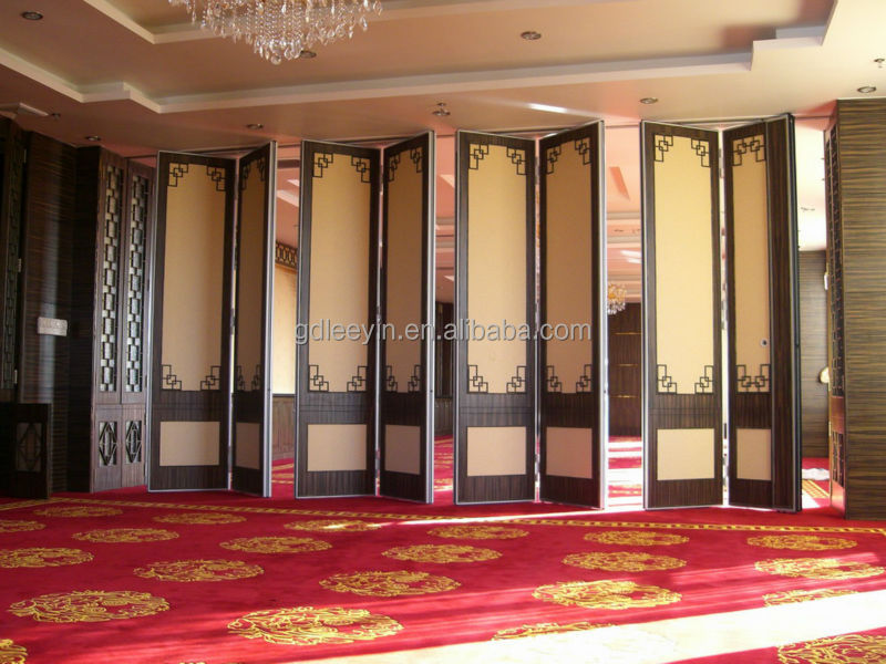 Acoustic Folding Sliding Doors Movable Partition Buy Folding Sliding