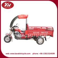 Alibaba China supplier cheap three wheel motorized motorcycle with front glass windshield