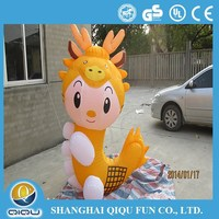 Qiqu inflatable bouncy dragon,inflatable animal,inflatable charater