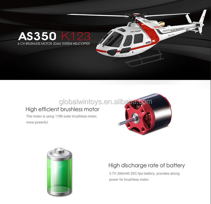 Original XK K123 6CH Super Brushless AS350 Scale 3D 6G System RC Helicopter with Camera Upgrade WLtoys V931png