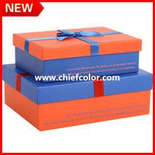 Impresión cajitas de papel cartón para regalo