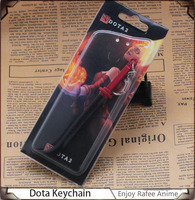 New Popular Game Dota2 Anime Custom Keychain