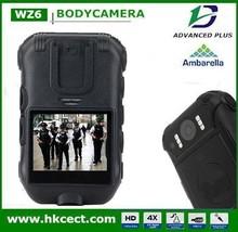 police body worn pocket video camera night vision full HD police body camera