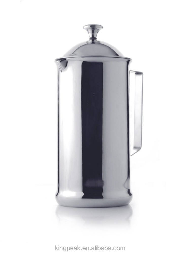 2015 New Product French Press Coffee Maker Stainless