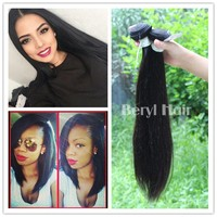 Wholesale Virgin Remy Human 1B & #27 & #163 color 100% Malaysian hair Weft