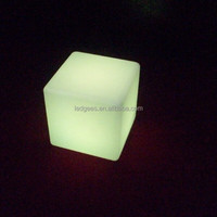 mini cube chair for kids/price of led cube chair/led light cube furniture