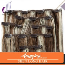 100% remy chinese human hair , cheap 613# 28 inch clip on human hair extensions
