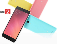 Xiaomi Redmi Note 2 4G LTE smartphone with mtk helio X10