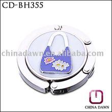 Simply painted handbag purse hook / premium gift