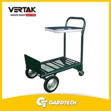 OEM welcome popular flower pot trolley