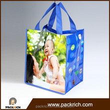 Hot Sale foldable pictures printing non woven shopping bag