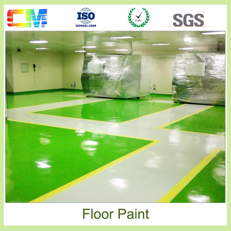 Hot sale epoxy resin floor paint commercial with low price