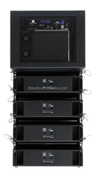 "Hot selling 8"" active line array , dsp line array speaker box system wholeslae, FIR line array sound system"
