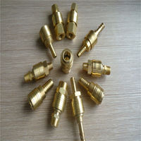 air hose brass quick coupling , quick disconnect quick hose connector , bsp bspt garden hose tap connector