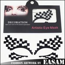 Digital design eye mask decoration sticker for eye art