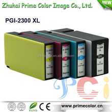 2015 New products Compatible Ink Cartridge PGI-2300 XL with Dye/pigment ink for Japan Market