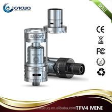 best selling products top refill 3.5ml Sub ohm Tank tfv4 Mini box mod /smok TFV4 Mini Black/Silver ecig accessories