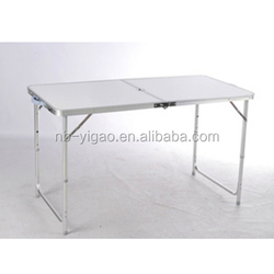 300185 outdoor folding portable tables camping aluminum folding table
