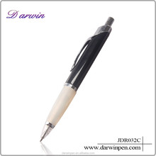 New design cheap half metal pen