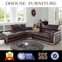 Dhouse Furniture Modern Leather Sectional Sofa