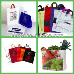 custom made 40mic LDPE packing bags shopping bags