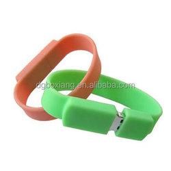 novelty hot sale wristband USB flash drive/ wristband usb drive cover