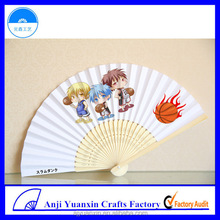 Premium Use Bamboo Paper Fan Premium Gifts