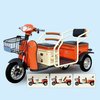 2015 New Hot Salt Cheap Three wheel Electric Tricycle Mobility Scooter Pedal Assisted for passenger China