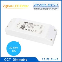 2-Ch 1050mA WiFi-ZigBee CCT Ajustable UL Compliant 50W LED Driver Dimmable
