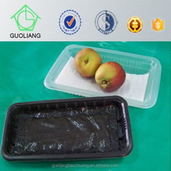 Safety Food Grade Custom Meat&Fruit Packing PET Punnet With Meat Soaker Pad